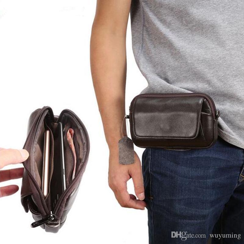 Sac de ceinture Banane Sac Sac en cuir sac photo Cuir Sac Téléphone Portable Ceinture Y