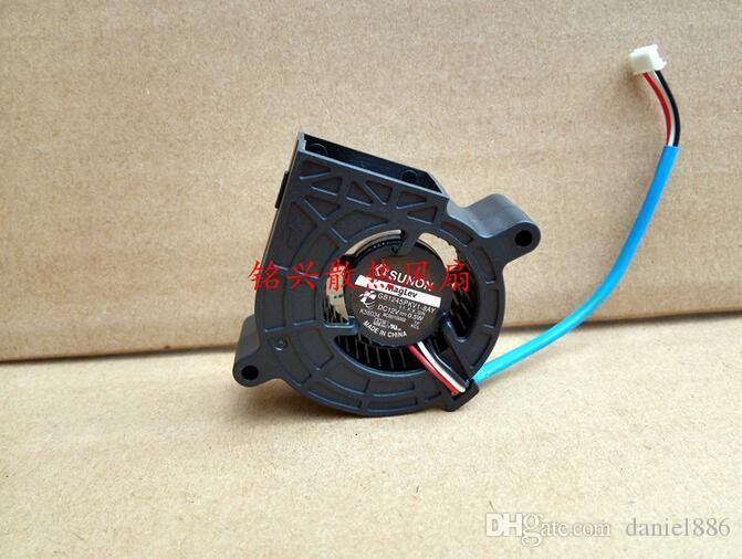 SUNON GB1245PKV1-8AY 12V 0.5W 3 line turbo proyector ventilador silencioso