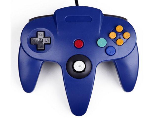 Controller USB per giochi per computer PC cablato classico nuovo di zecca per Nintendo 64 N64