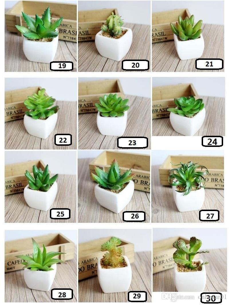 artificial plants for office decor. 30 Styles Artificial Plants For Home Office Decor Bonsai Tropical Cactus Fake Succulent Potted Decorative F