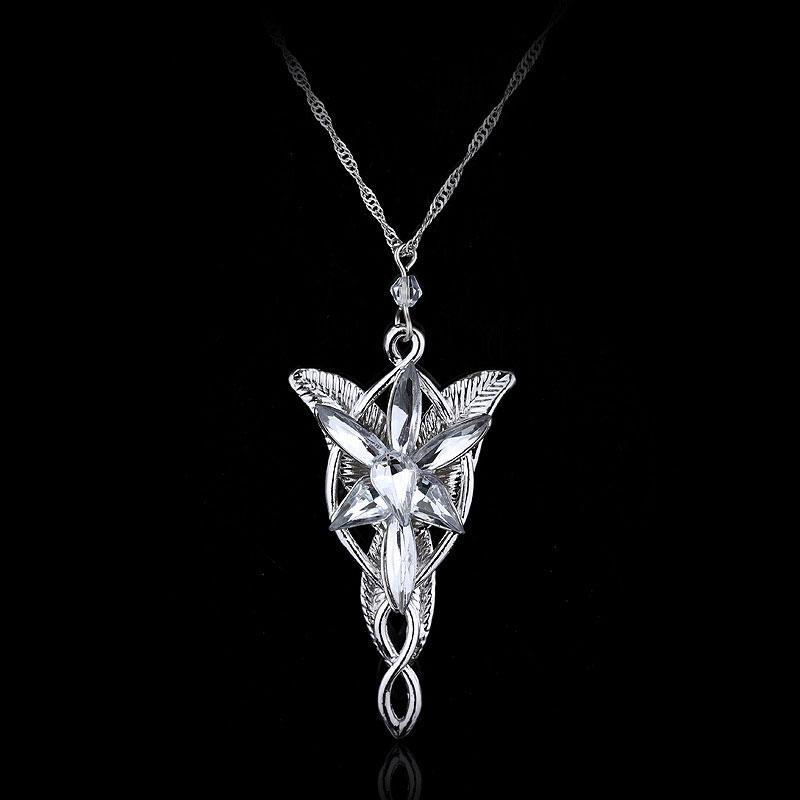 New Fashion austriaco gioielli con ciondolo in cristallo Twilight Star Princess Collana Il Signore degli Anelli Wizard Princess Wedding Collane con ciondolo