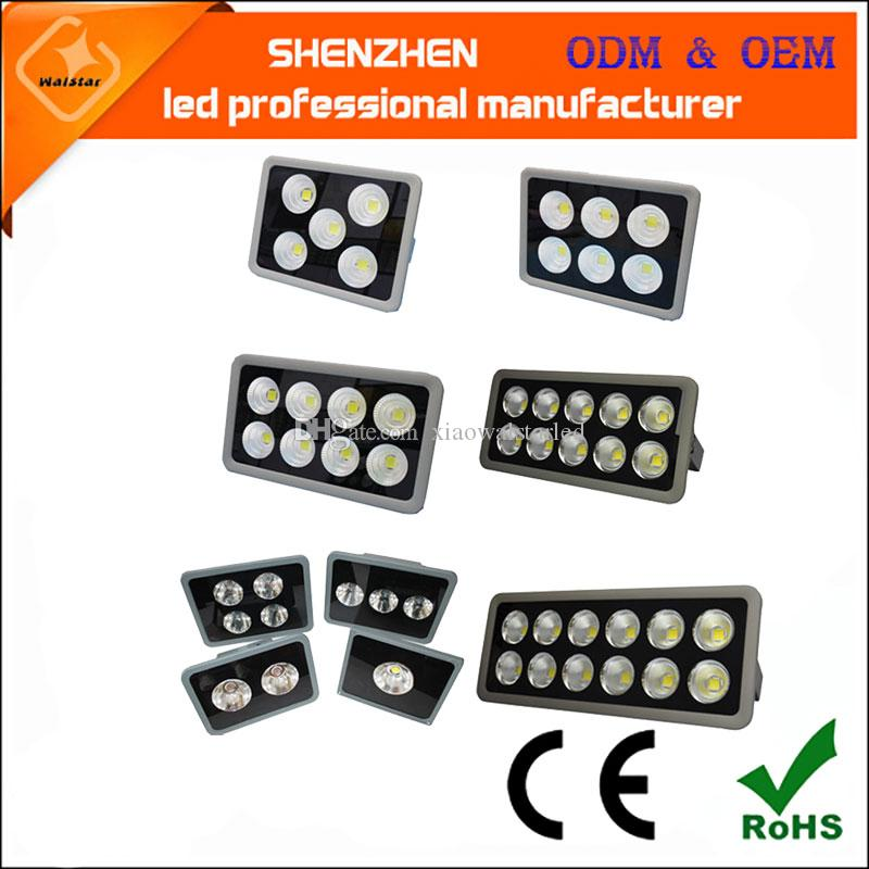 45 градусов Led Прожектор 85-265 50W 100W 150W 180W 200W 240W 320W 400W 500W LED пейзаж Led Открытый свет потока Водонепроницаемые светильники