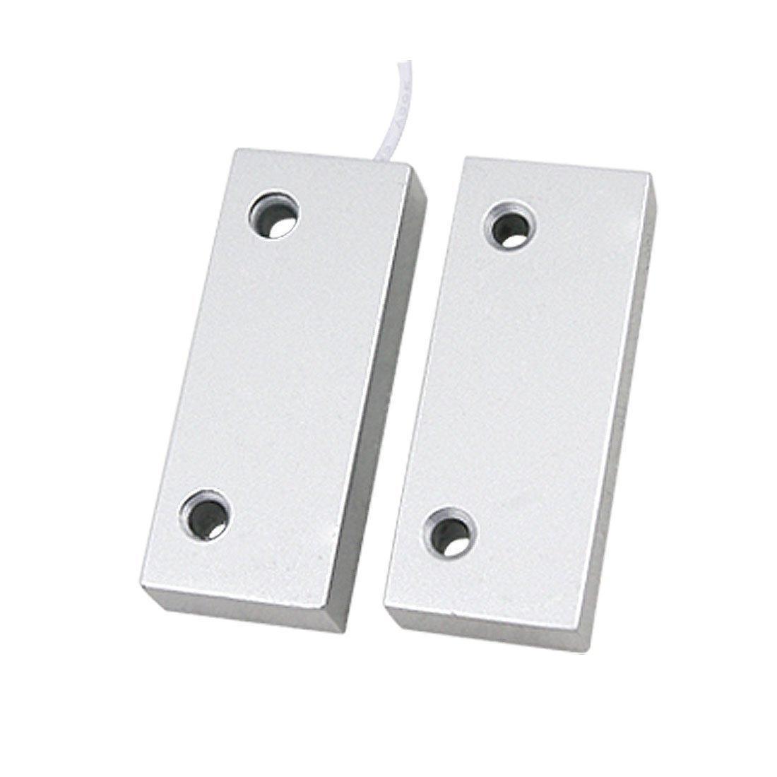 Safearmed® OC-52 Verdrahteter Türfenstersensor Sicherheitsalarm Türfensterkontakte Magnetschalter