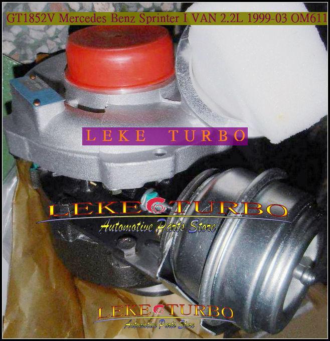 GT1852V 709836-0004 for Mercedes benz Sprinter 1999-03 2.2L OM611 turbocharger (2)