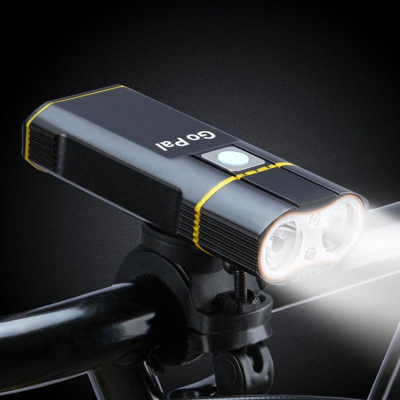 Велосипед переднего света велосипеда свет Usb 500Lumens 5modes Водонепроницаемый Интеллектуальные Велоспорт Свет велосипедов Аксессуары автомобиле сиденья