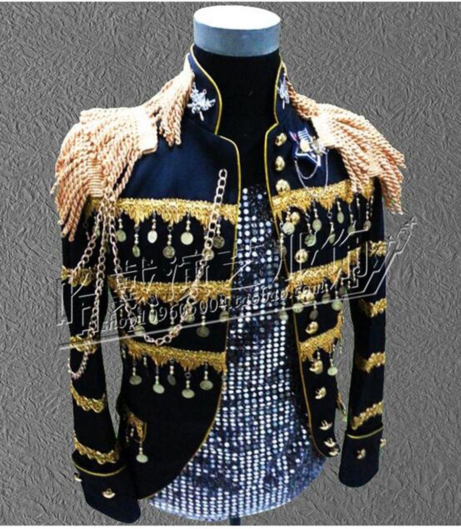 Nouveaux hommes mode han édition euramerican star discothèque chanteur performance scène sequins vestes.S - 4 xl