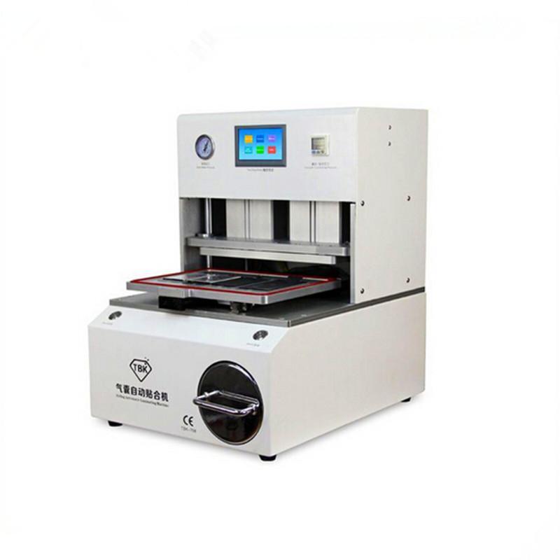 All In One New Design per schermo curvo OCA LCD macchina di laminazione Bubble Remover Built-in Vacuum Pump compressore d'aria TBK 708