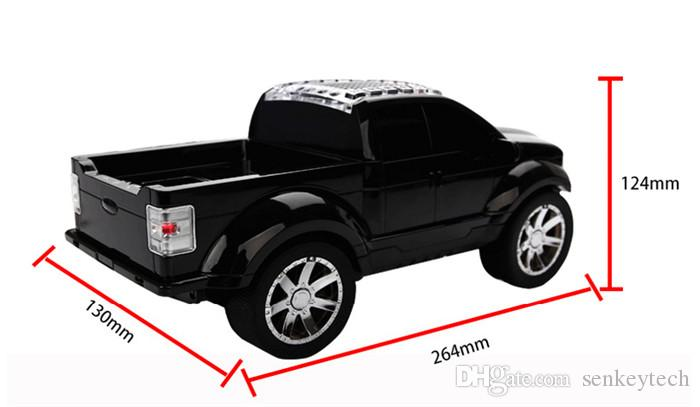 JKR Bluetooth Mini Pickup Truck Speaker MODEL DS-393BT