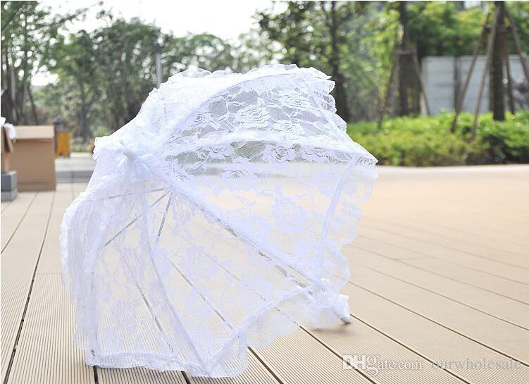 2019 New Style Hand Lace Umbrella Wedding Umbrella Wedding Photography Umbrella From Ourwholesale 35 18 Dhgate Com