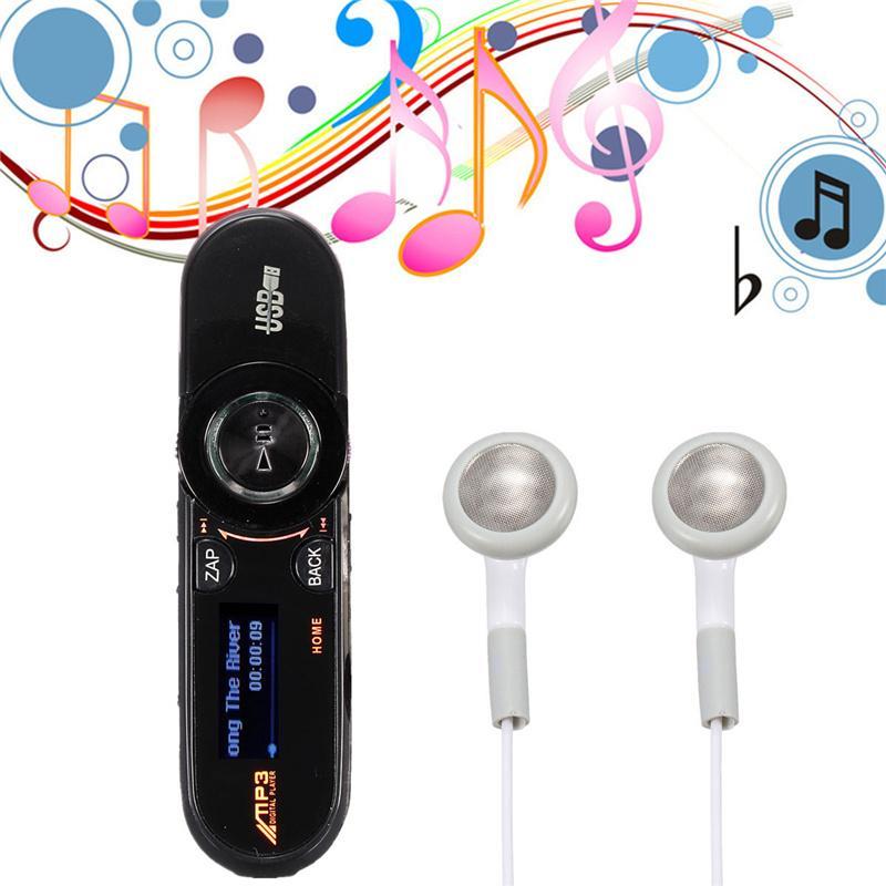 Nueva moda alta calidad Portable Mini 8 GB USB MP3 reproductor de música pantalla LCD de alta definición de la ayuda FM Radio grabadora de v