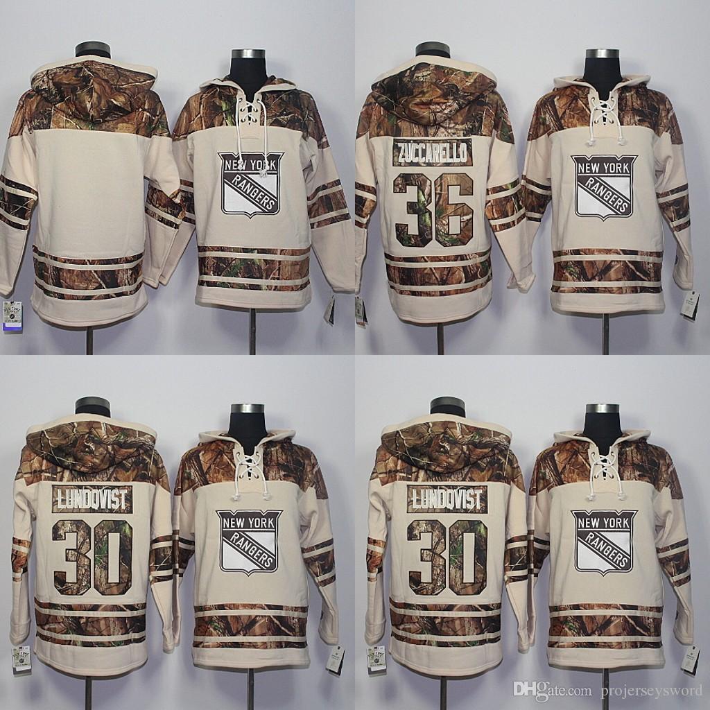 2016 New Style New York Rangers Hoodies Sweatshirts Men's Blank 30 Henrik Lundqvist 36 Mats Zuccarello Embroidery Logos Hockey Jerseys