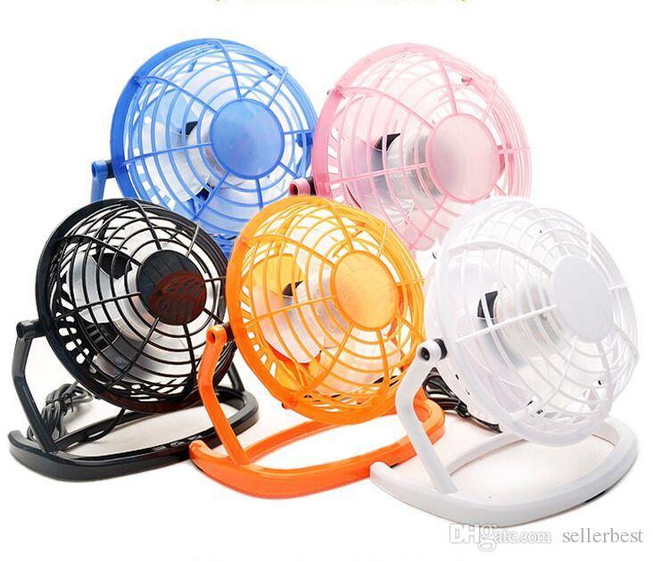Ventilateur Portable USB Mini Desktop Refroidissement Refroidisseur ventilateur de bureau pour ordinateur portable air