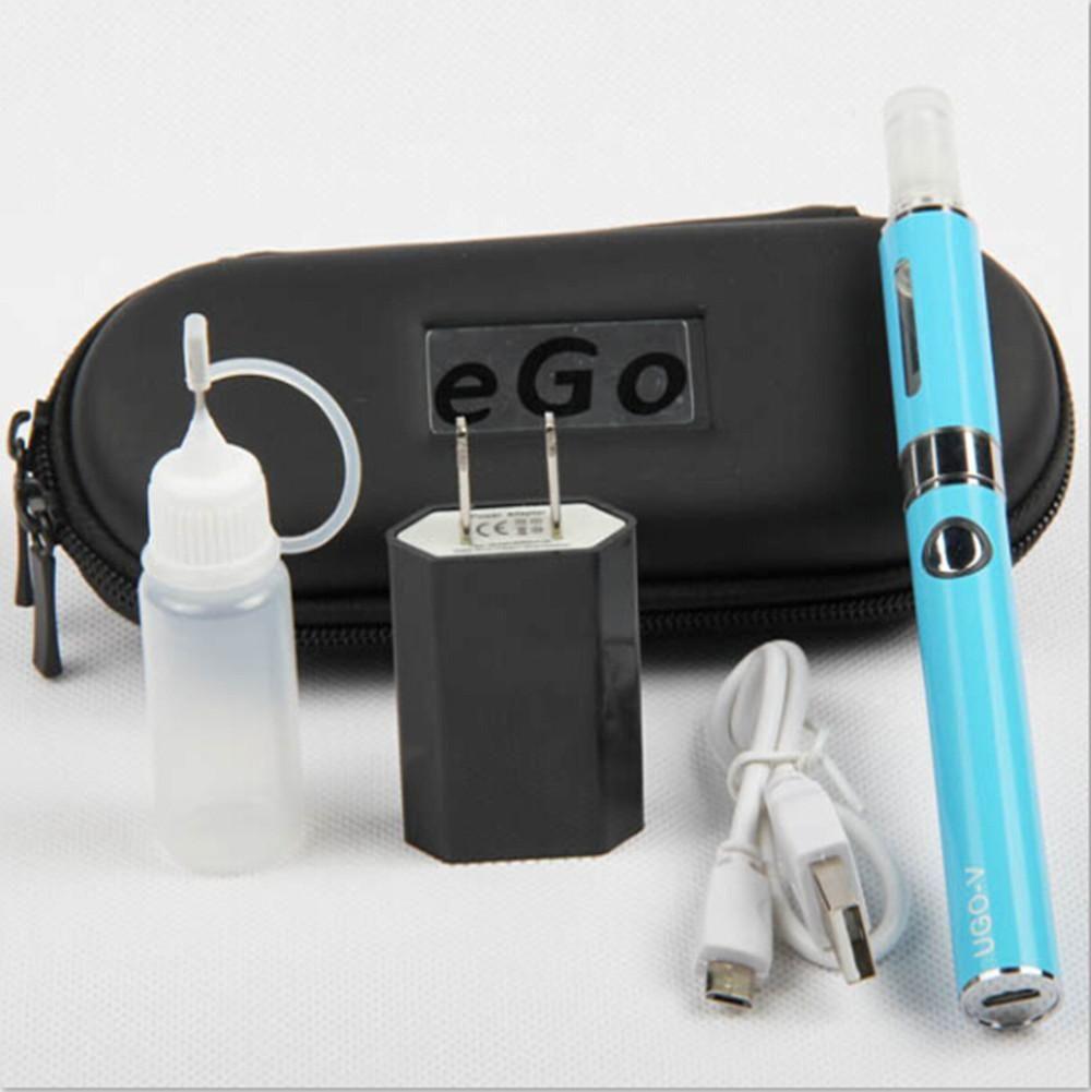 UGO-V E Zigaretten eGo Kit USB Passthrough 650mAh 900mAh UGO-V Akku mit ECigs MT3 Vaporizer Atomizer tanks Vape Stifte Starter Kits DHL