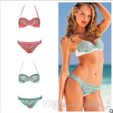 2016 sexy style national female models bikini swimsuit women Swimwear hot sale summer bikini