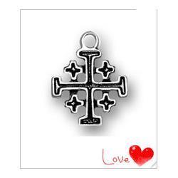 30Pcs-Vintage-Religious-Jerusalem-Crosses-Charm-Jewelry
