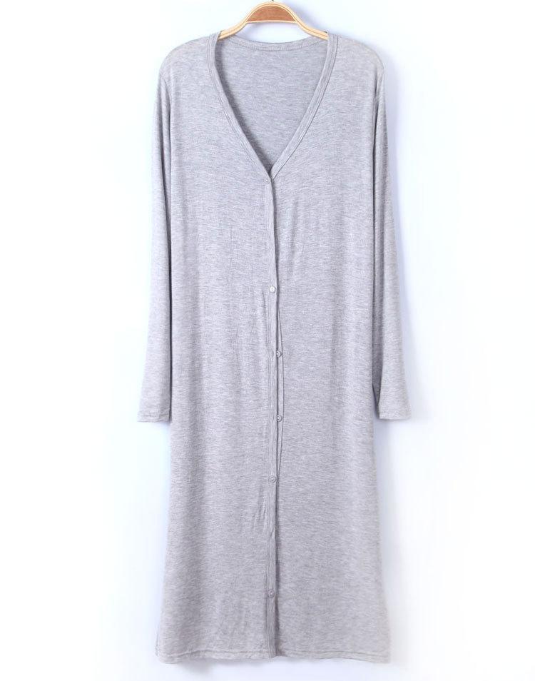 2016 nuovo modello Cardigan coreano No Generazione manica lunga a maniche lunghe Fondo a maglia Abbigliamento Air Condizionatore d'aria sfoderato Garm