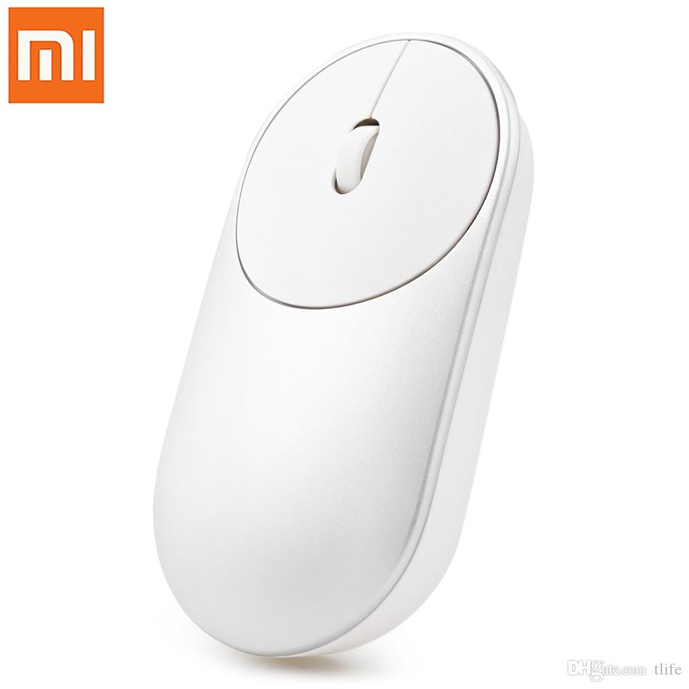 61b7eef4120 Original Xiaomi Mouse Portable Optical Wireless Bluetooth Mice 4.0 RF 2.4  GHz Dual Mode Connect for Windows 8 Win 10 Laptop pc +B