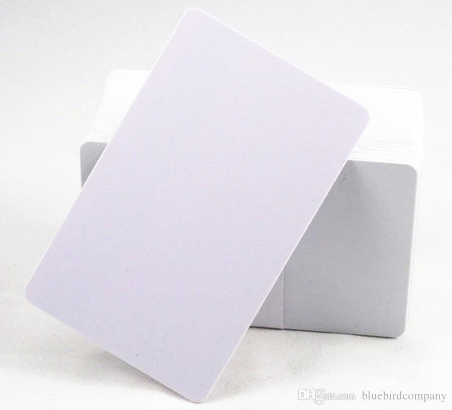100pcs/lot Inkjet Printable blank PVC card for Epson printer, for Canon printer