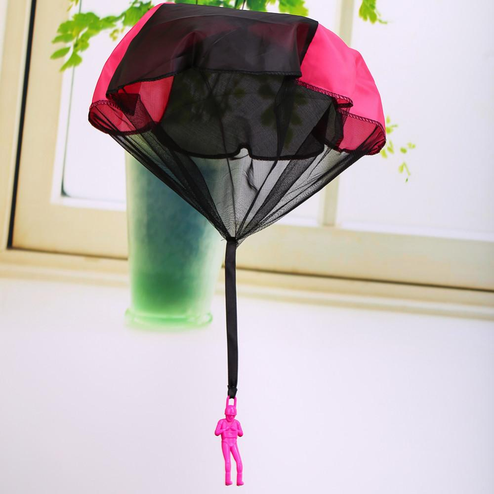 Wholesale Mini Kids Parachute Hand Throwing Parachute Toy Play Outdoor Games Children Educational Parachute With Figure Soldier Child Fun