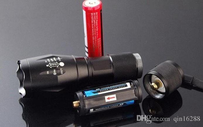 2000 루멘 손전등 주도 크리어 XM-L T6 토치 캠핑 장비 램프 플래시 빛 방수 linternas 미니 토치 nitecore