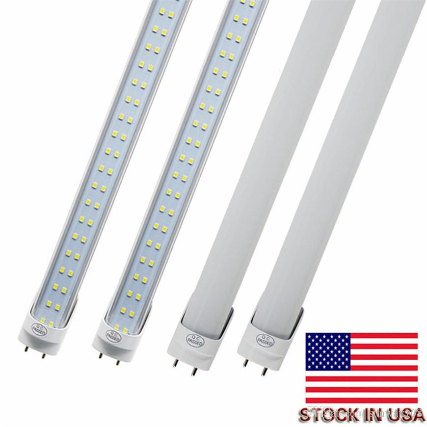 Светодиодные ламповые трубки 4 фута FT 4FT LED трубка 18W 25W T8 флуоресцентный свет 6500K холодная белая фабрика оптом высокая яркость, энергосбережение