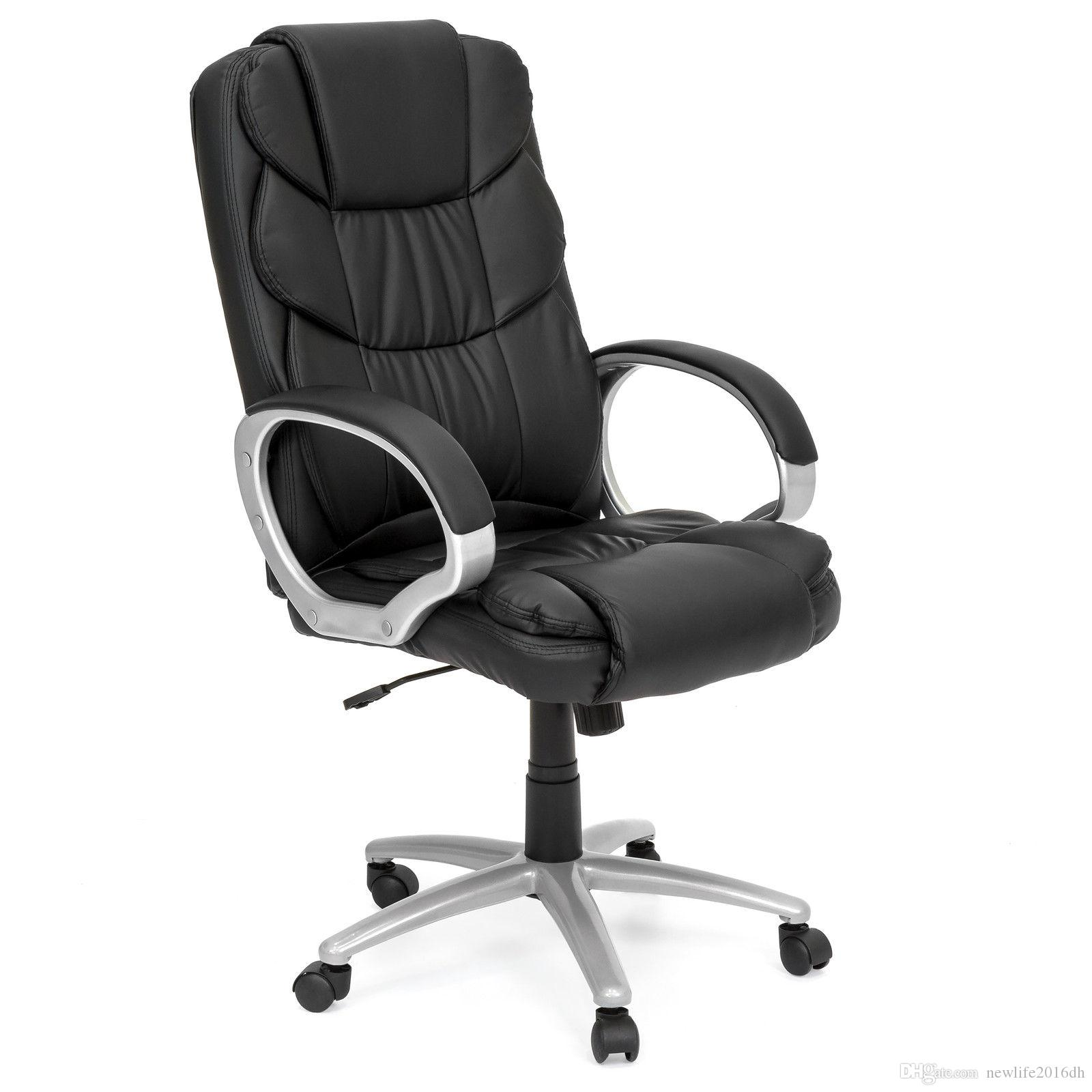 2019 Best Choice Products Ergonomic PU Leather High Back Office Chair,  Black From Newlife2016dh, $75.38   DHgate.Com