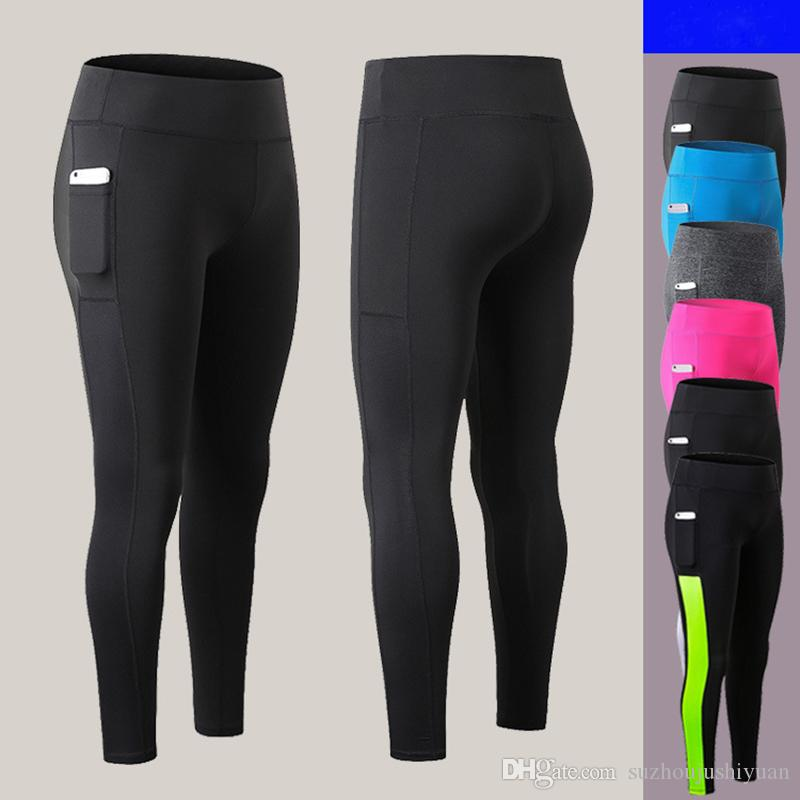 latest fashion special buy durable in use 2019 Women'S Yoga Pants Side Pockets Fitness Leggings Running Tights  Elastic Quick Drying Sweat Gym Pants Women From Suzhoujushiyuan, $12.87 |  ...