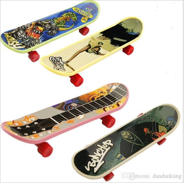 Mini Finger Board Skateboard Toys Tech Deck Children Kids Skate Movement Toys