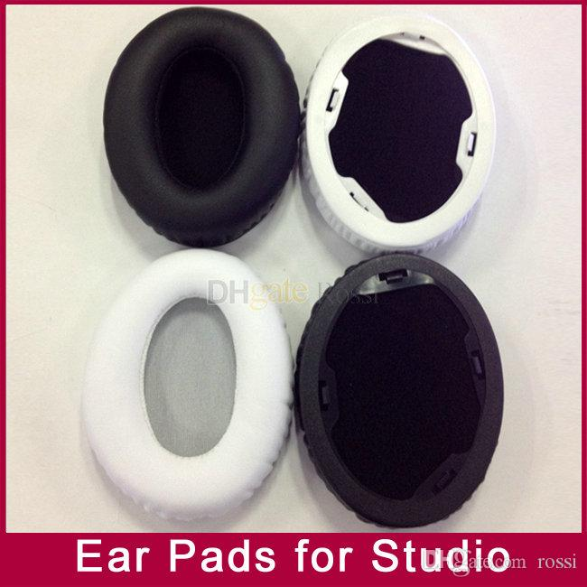 Ear pads earpad cushion foam pad cover repalacement for MP3/4 player Studio1.0 V1.0 cushions studio1.0 wireless headphones Black White color