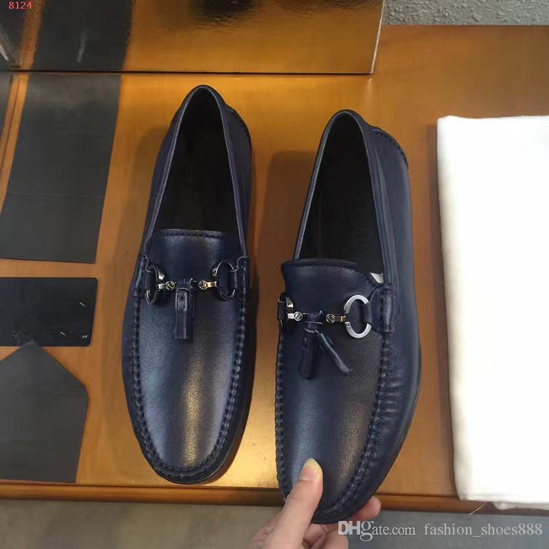Hochwertige Herren Fahrer, Top-Textur mit echtem Leder made.comfortable und eine gute Wahl für Business-Stil