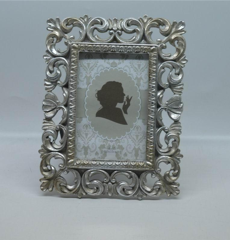 "4x6 ""e 5x7"" Kate Vintage angosciati Cornici rettangolo Photo Frame creativo con design classico Hollow up Around Edging"