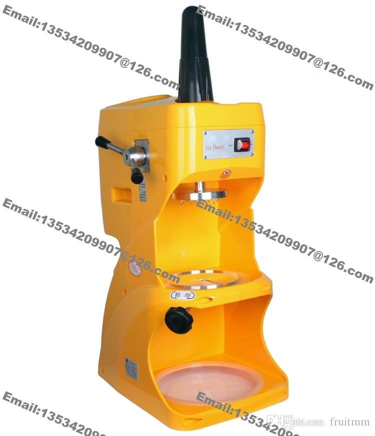 Frete Grátis Uso Comercial 110 v 220 v Elétrico Neve Ice Shaver Shaved Ice Cream Shaving Maker Máquina Triturador