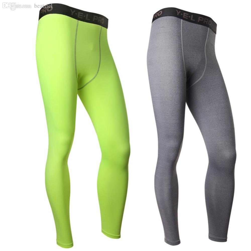 Compression Base Layer Pants Long-Tight sous la peau Sportswear Gear Bottom L4 KR2