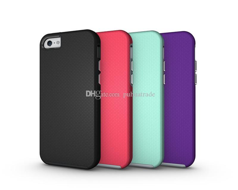 Coque Iphone 5 5S 5SE 7 8 Plus Phone Coque TPU Incassable En Deux Couleurs Pour Téléphone Proposé Par Puhuatrade, 1,44 €   Fr.Dhgate.Com