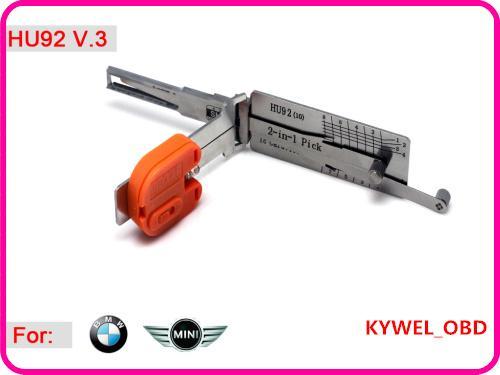 Auto Smart HU92V.3 2 en 1 Pick and Decoder pour Mini BMW / BMW, Tool Locksmith Livraison Gratuite