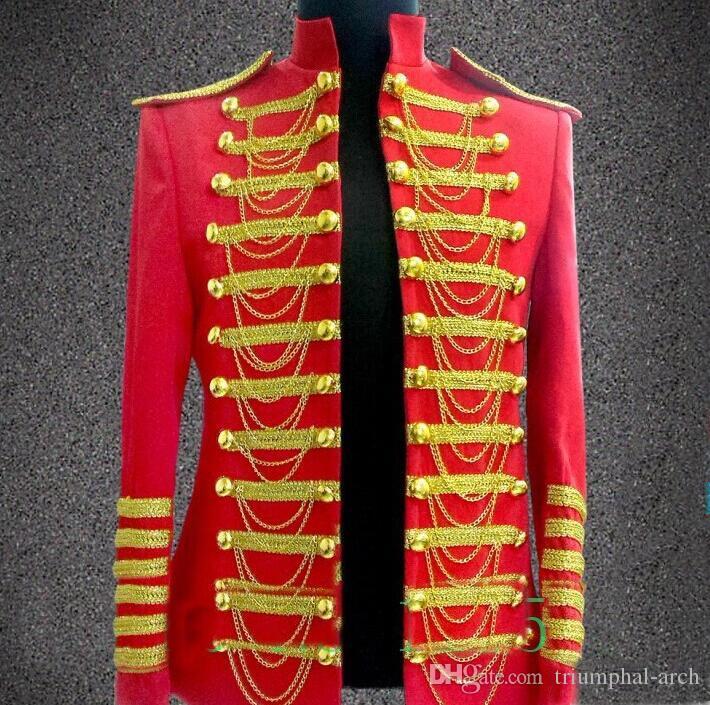 2016 heißer verkauf Männer große plus größe jacke blazer leistung männlichen ds männlichen königlichen kleidung stern stage DS Anzüge Blazer