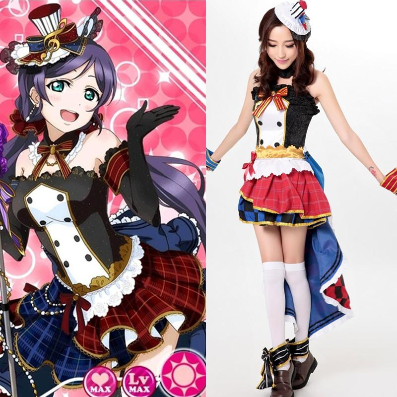 2016 Japanese anime jumpsuit Lolita maid outfit cosplay Love Live ...