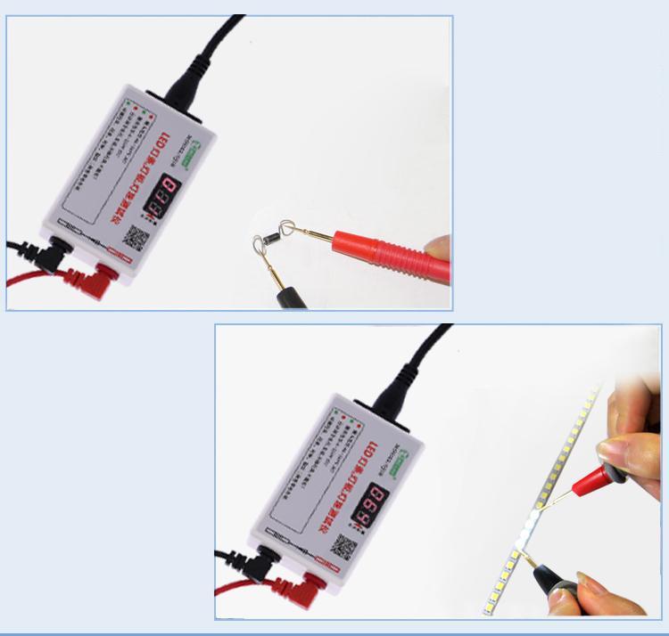 2019 Portable LED Strip Light Lamp Panel Bead Regulated Voltage Diode  Tester Meter Voltmeter Automatic Adjustment AC85 265V DC0 220V From Dejx,