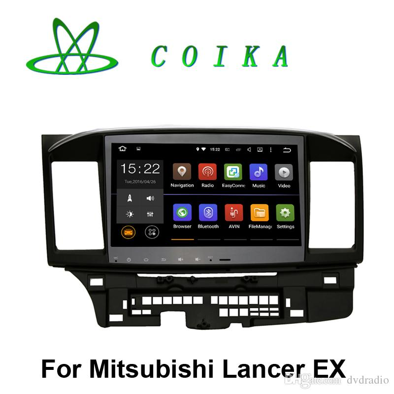 9 Android 8.1 Car Stereo Double din Adjustable Screen for Mitsubishi Wing god Lancer 2010 2012 2013 2014 2015 2016 with 2 din Slot Head Unit Touch Screen Navigation Car Radio GPS with Quad Core