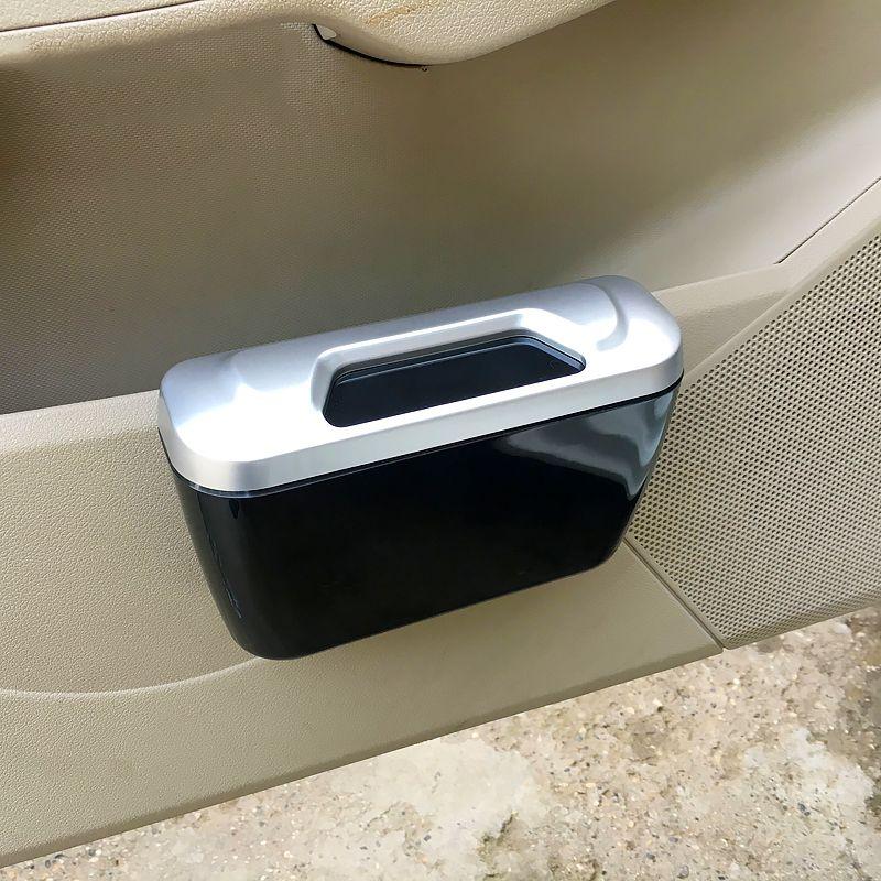 Truck Interior Accessories >> Universal Auto Truck Interior Accessories Door Trash Rubbish Bin Can Garbage Dust Case Holder Storage Box Parts Car External Parts Car Interior