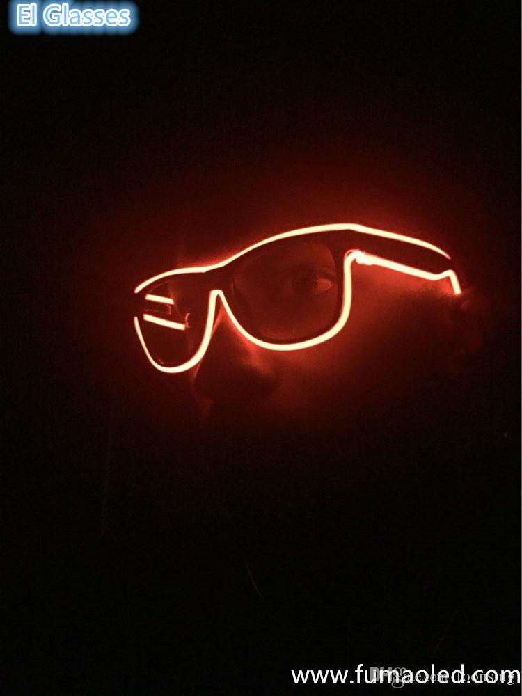 Luminosité superbe et verres de lumière au néon de couleur orange de fil de haute qualité avec l'inverseur de batterie de Dc3v