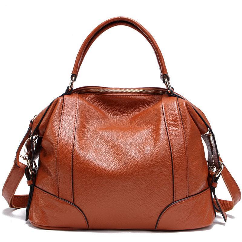 Nova moda de luxo Bolsas Bolsas Mulheres do desenhista do couro genuíno elegante Shoulder Bags Totes Lady Bolsas Mensageiro