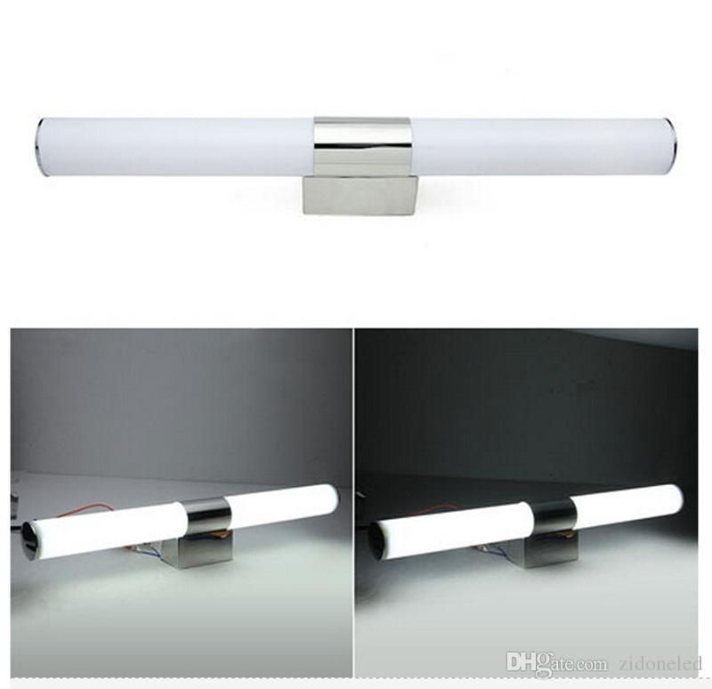 Lampada da specchio a LED Lampada da bagno con luce a led Lampada da parete per bagno AC85-265V Lampada da interno a LED moderna semplice acrilica