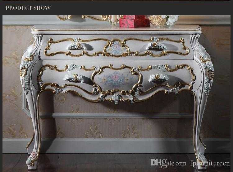 13 French Provincial Furniture Luxury European Royalty Classic Bedroom  Furniture Dressing Cabinet Luxury European Style Dressing Table From
