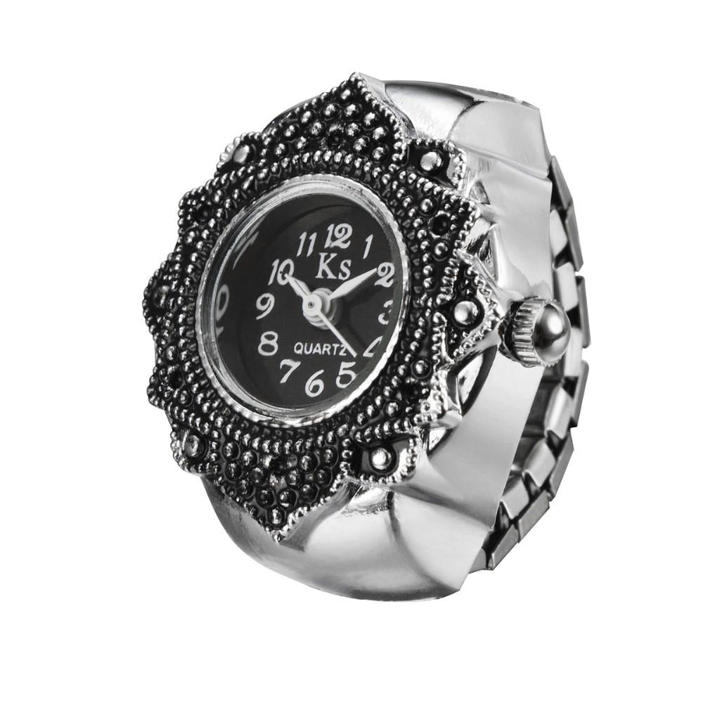Low price Best Gift for Women Finger Ring Watch high quality girl ...
