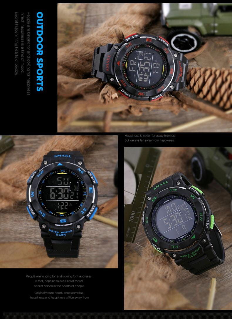 11.led watch waterproof