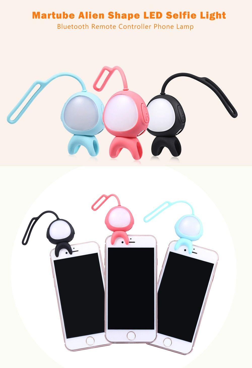 Alien Selfie Fill Led Light Bluetooth Cute Retardateur 1 Pour Taki Téléphone Acheter Super Martube Télécommande En Lampe Smartphone 2 8XwN0OkPnZ