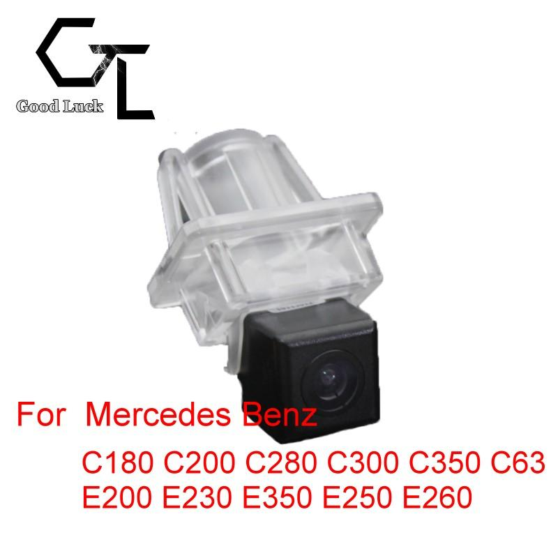 For Mercedes Benz C180 C200 C280 C300 C350 C63 E200 E230 E350 E250 E260 Wireless Car Auto Reverse Backup CCD HD RearView Camera