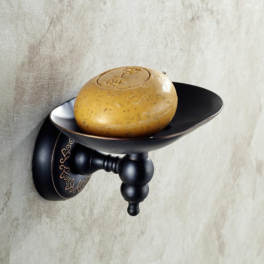 Bronze Soap Dishes / Soap Holder/Soap Case Bathroom Accessories & copper & Black 2016new good black Daily Necessities