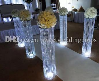 new arrival ,clear acryl cylinder candleholder/tall crystal cylinder vases wholesale for wedding/table